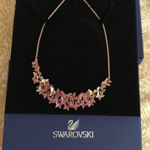 Authentic Swarovski  Butterfly necklace